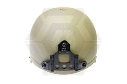 Mil-Force IBH Helmet with NVG Mount (Tan)