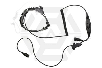 Mil-Force Throat Mic with Double Pin