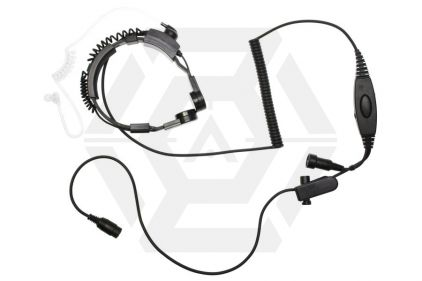 Mil-Force Throat Mic with Single Pin