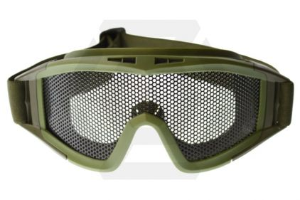 Mil-Force Mesh Goggles (Olive)