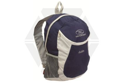 Highlander Dublin 15L Day Sack (Navy/Grey)