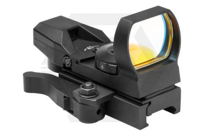 NCS Rogue Multi Reticule Red Illuminating Reflex Sight with QR Mount