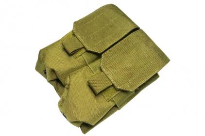 TMC MOLLE Double Mag Pouch (Khaki)