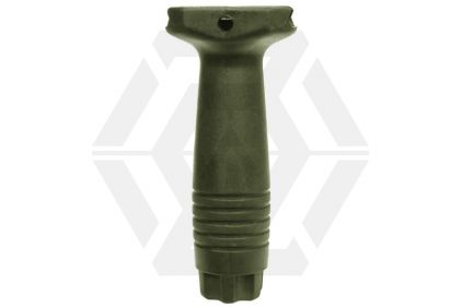 Echo1 Long Vertical Grip for 20mm RIS (Olive)