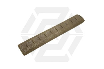 APS KAC Rubber Rail Covers for 20mm Rail (Dark Earth)