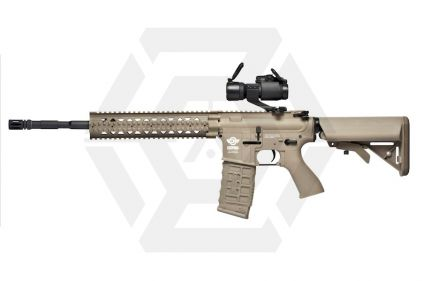 G&G Combat Machine AEG CM16 R8-L DST (Tan) © Copyright Zero One Airsoft