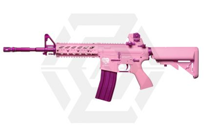 G&G Combat Machine AEG with Blowback FF15-L Pink Storm © Copyright Zero One Airsoft