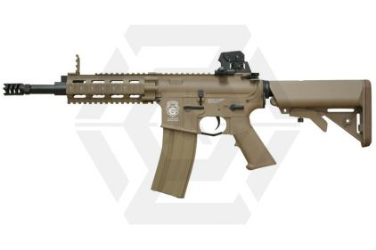 G&G Combat Machine AEG with Blowback GR16 CQW Rush DST (Tan) © Copyright Zero One Airsoft