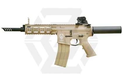 G&G Combat Machine AEG with Blowback GR16 CQW WASP DST (Tan)