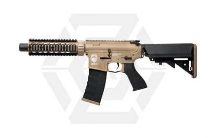G&G Combat Machine AEG with Blowback GR4 CQB-S MINI DST (Tan)