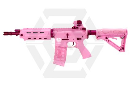 G&G Combat Machine AEG with Blowback FF26 Pink Storm