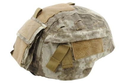 Emerson MICH Helmet Cover (A-TACS) © Copyright Zero One Airsoft