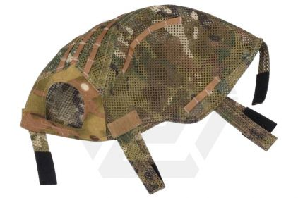 Emerson MICH Helmet Cover Mesh (MultiCam) © Copyright Zero One Airsoft