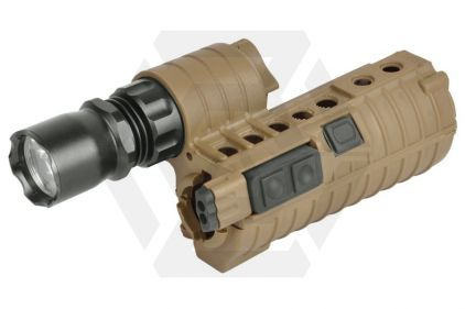 Element E500A Lithium Power Weapon Light for M4 (Tan)