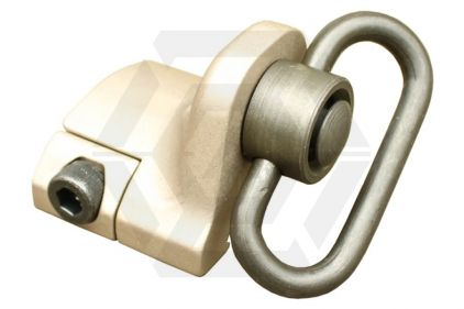 Element QD Sling Swivel with 20mm Mount and Hand Stop (Dark Earth)