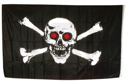 TracPac Skull & Crossbones Flag 90cm x 150cm