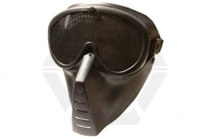 Aim Top Mesh Full Face Mask (Black) © Copyright Zero One Airsoft