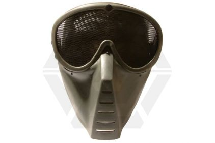 Aim Top Mesh Full Face Mask (Green) © Copyright Zero One Airsoft