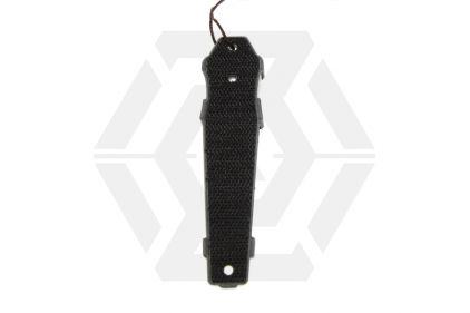 FMA V-Lite with Velcro Backing (Black with Red Light)