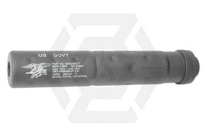 G&G Suppressor 14mm CCW SOCOM Style (Black)