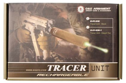 G&G Rechargeable Tracer Unit (Black)