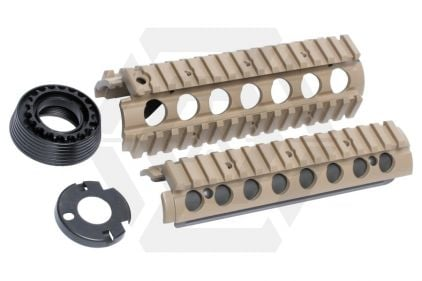 G&G 20mm RIS Foregrip for M4 (Tan)