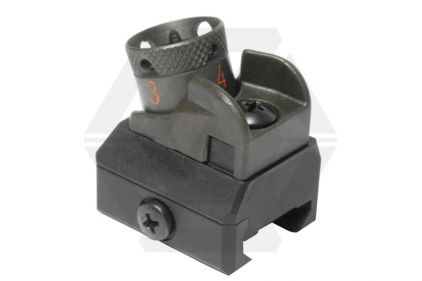 G&G 20mm RIS Rear Sight T416 Style