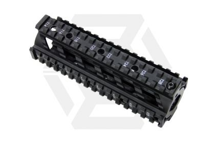G&G M4 20mm RIS Handguard Raider Style (Black) © Copyright Zero One Airsoft