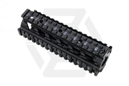 G&G M4 20mm RIS Handguard Raider Style (Black)