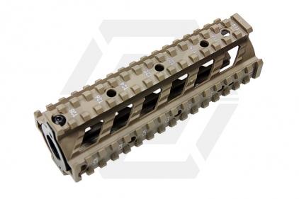 G&G M4 20mm RIS Handguard Raider Style (Tan)