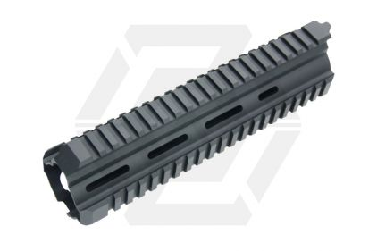 G&G M4 20mm RIS Handguard T416 Style (Black) © Copyright Zero One Airsoft