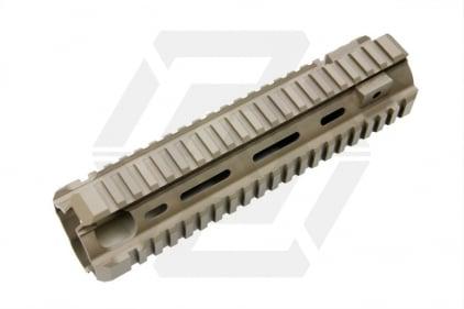 G&G M4 20mm RIS Handguard T418 Style (Tan)