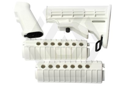 G&G Handguard & Stock Set for M4 (Snow)