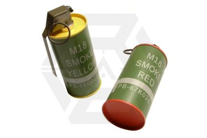 G&G M18 Smoke Grenade Replica Set of 2 (Speedloader Bottle)