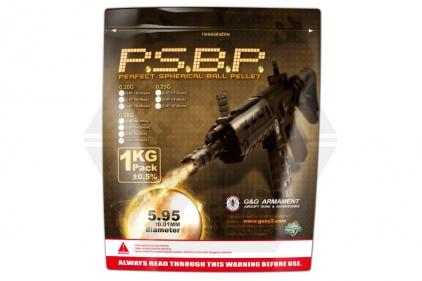 G&G BB 0.25g 4000rds (Black)