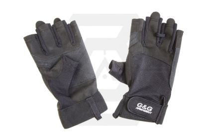 G&G Half Finger Tactical Gloves - Size Extra Large © Copyright Zero One Airsoft
