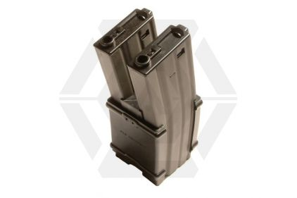 G&G AEG Mag for M4 900rds Electric Auto Winding Double Mag © Copyright Zero One Airsoft