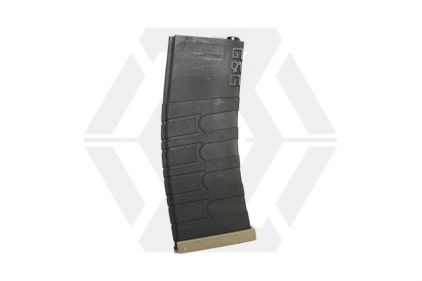 G&G AEG Mag for M4 120rds (Black/Tan)