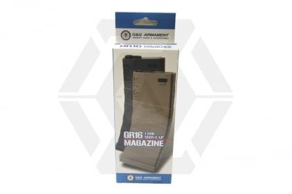G&G AEG Mag for M4 120rds (Black/Tan)