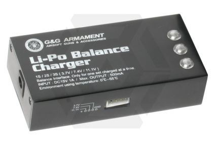 G&G Balance LiPo Charger © Copyright Zero One Airsoft