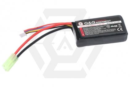 G&G 11.1v 1000mAh 20C LiPo Battery for PEQ Battery Box © Copyright Zero One Airsoft