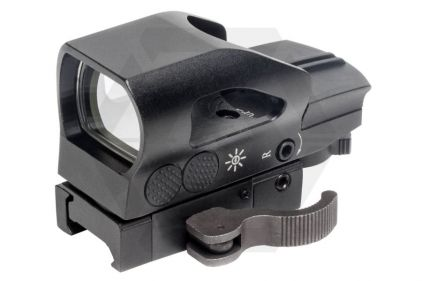 G&G Red/Green 4 Reticle Armoured Reflex Sight with QD Mount