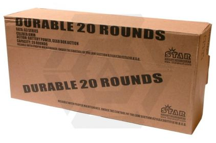 Ares Expendable, G3, 20rd (Box of 10) © Copyright Zero One Airsoft