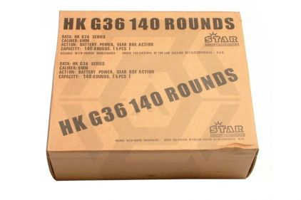 Ares Expendable Magazines for G39 140rds (Box of 5)