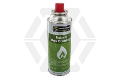 Highlander Butane Camping Gas © Copyright Zero One Airsoft