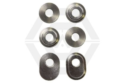 Guarder 6mm Steel Bushings Pack for AEG Tokyo Marui P90 & Thompson M1A1 © Copyright Zero One Airsoft