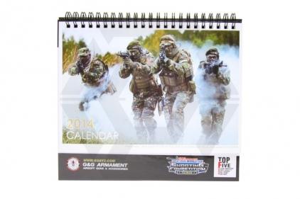 G&G Calendar 2014 (Black)