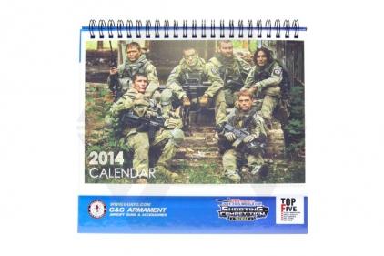 G&G Calendar 2014 (Blue)