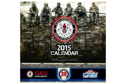 G&G Calendar 2015 (1st Edition)