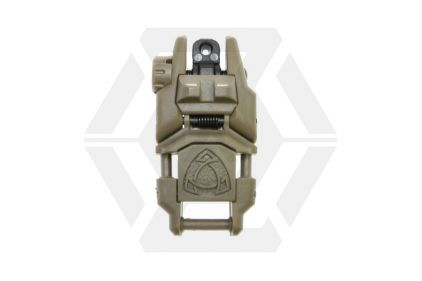 APS Rhino Flip-Up Rear Sight (Dark Earth)